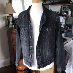 Men's Urban Outfitters Black Denim Jacket